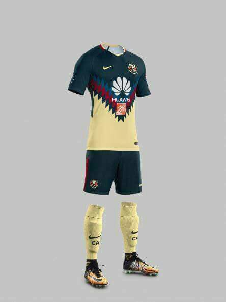 Oficial uniforme de local del am rica 2017 2018 america for Cuarto uniforme del america