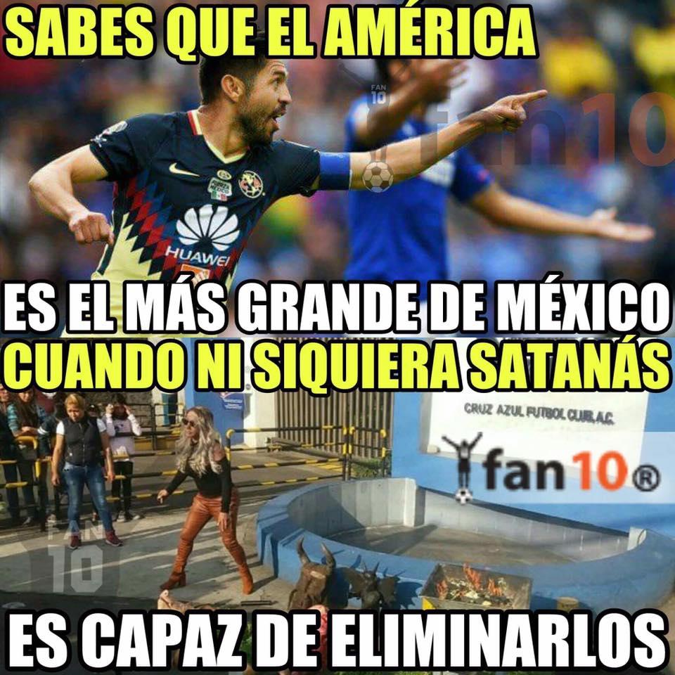 Los memes de la eliminación de Cruz Azul ante América ...